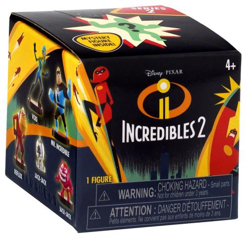 Disney / Pixar Incredibles 2 Mini Supers Figure Series 2 Mystery Box [24 Packs]