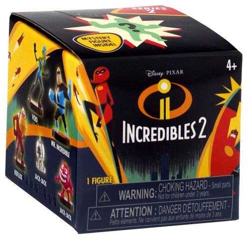 Disney / Pixar Incredibles 2 Mini Supers Figure Series 2 Mystery Pack