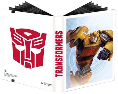Ultra Pro Trading Card Game Transformers 9-Pocket Pro Binder