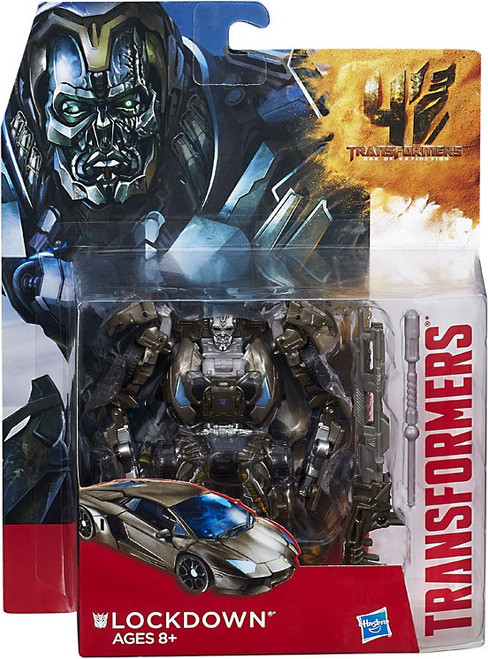 Transformers Age of Extinction Generations Lockdown Deluxe Action Figure [Damaged Package]
