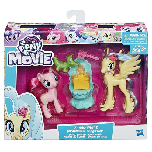 My Little Pony The Movie Pinkie Pie & Princess Skystar Party Friends Figure Set [Damaged Package]