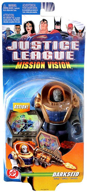 Justice League Mission Vision Darkseid Action Figure [Damaged Package]