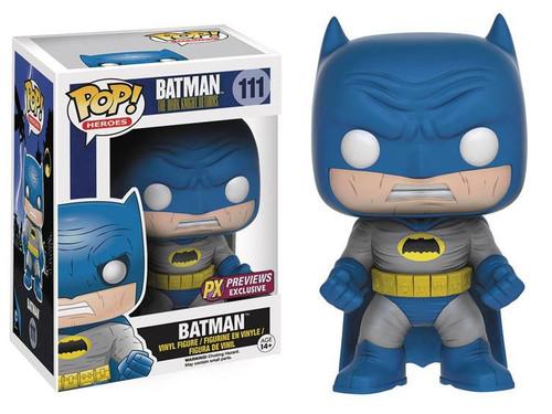 Funko DC The Dark Knight Returns POP! Heroes Batman Exclusive Vinyl Figure #111 [Blue Costume, Damaged Package]