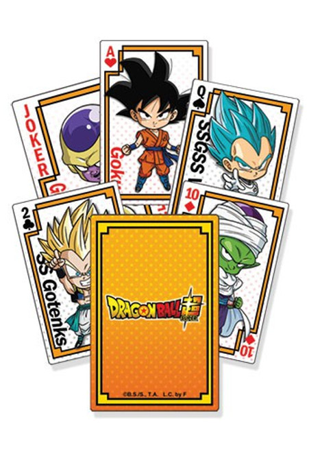 Dragon Ball Super - Resurrection F Resurrection of F SD Group Playing Cards