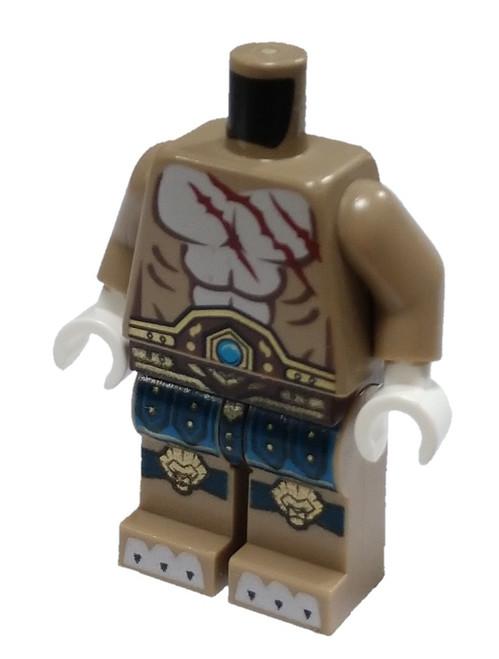 LEGO Longtooth's Loose Torso & Legs [Loose]