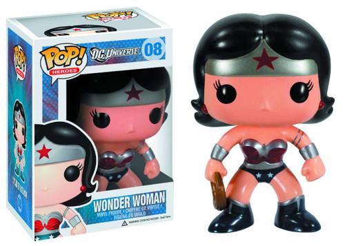 Funko DC Universe POP! Heroes Wonder Woman Exclusive Vinyl Figure #08 [New 52 Version, Damaged Package]