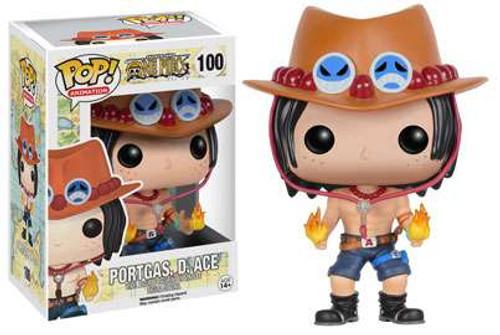 Funko One Piece POP! Anime Portgas. D. Ace Vinyl Figure #100 [Damaged Package]