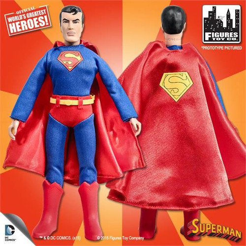 DC World's Greatest Heroes Super Friends Superman Action Figure [Damaged Package]