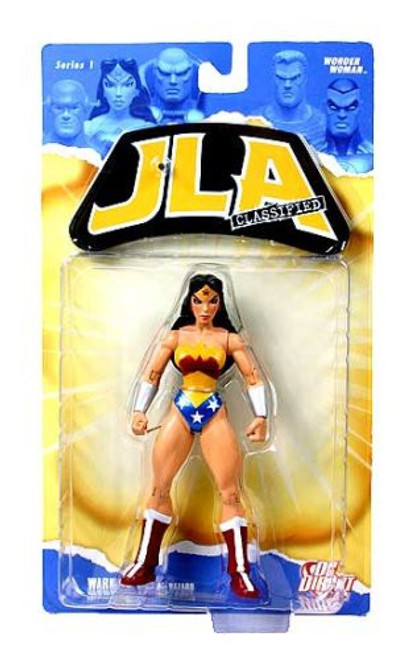 DC JLA Classified Series 1 Wonder Woman Action Figure [Damaged Package]