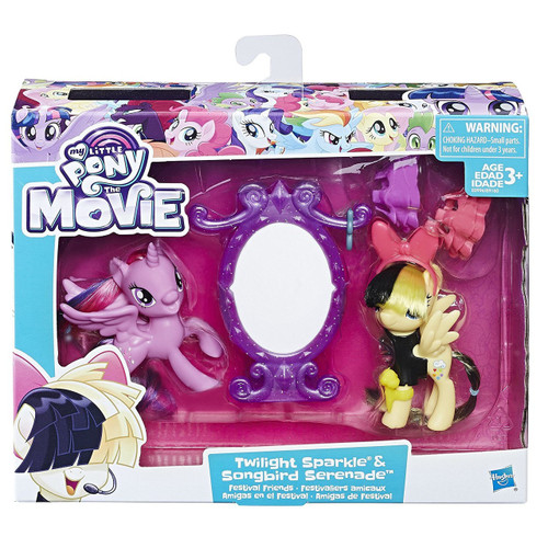 My Little Pony The Movie Twilight Sparkle & Songbird Serenade Festival Friends Figure Set [Damaged Package]