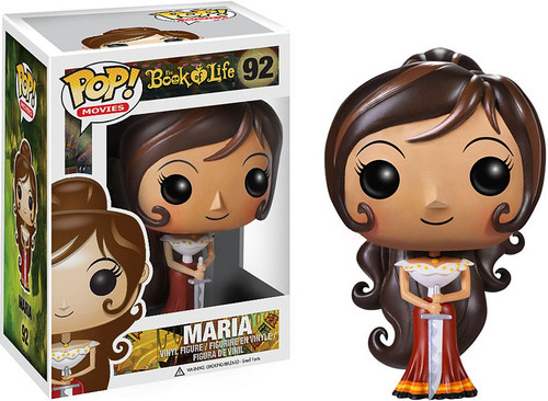 Funko The Book of Life POP! Movies Maria Vinyl Figure #92 [Damaged Package]