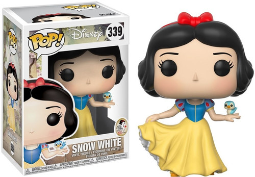 Funko POP! Disney Snow White Vinyl Figure #339 [with Bird, Damaged Package]