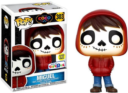 Funko Disney / Pixar Coco POP! Disney Miguel Exclusive Vinyl Figure #303 [Hoodie On, Glow-in-the-Dark, Damaged Package]