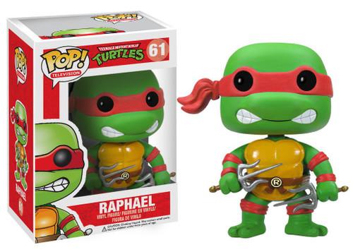 Funko Teenage Mutant Ninja Turtles POP! TV Raphael Vinyl Figure #61 [Damaged Package]
