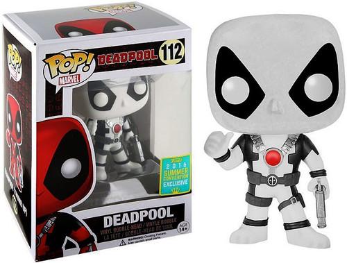 Funko POP! Marvel Deadpool Exclusive Vinyl Bobble Head #112 [White Suit, Damaged Package]