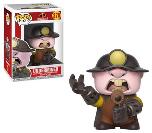 Funko Disney / Pixar Incredibles 2 POP! Disney Underminer Vinyl Figure #370 [Damaged Package]