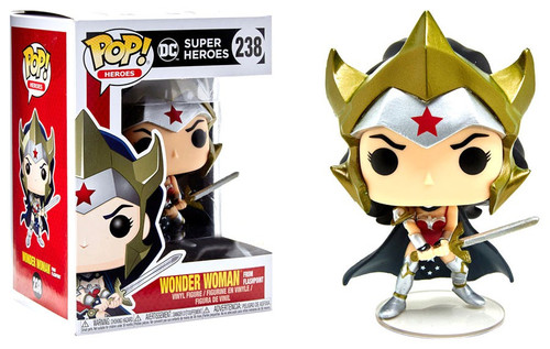Funko DC POP! Movies Wonder Woman Exclusive Vinyl Figure #238 [Flashpoint, Damaged Package]