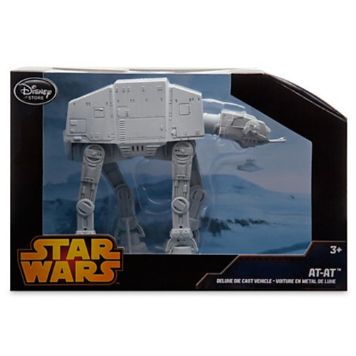 Disney Star Wars The Empire Strikes Back AT-AT Exclusive Diecast Vehicle [Black Box, Damaged Package]