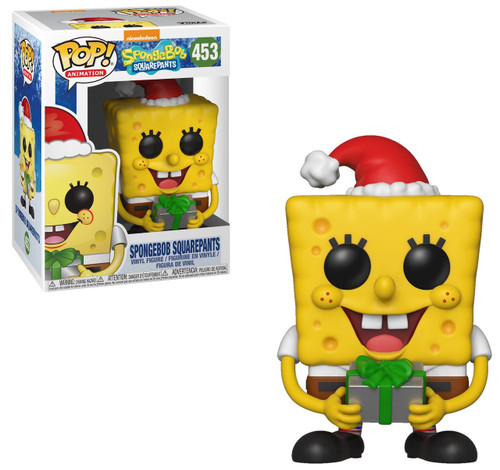 Funko POP! TV Spongebob Squarepants Vinyl Figure #453 [Christmas]