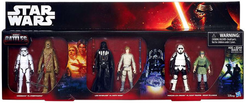 Star Wars Episodes 4-6 Chewbacca, Stormtrooper, Luke, Vader, Han Solo & Scout Trooper Exclusive Action Figure 6-Pack