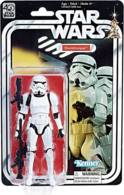 Star Wars Black Series 40th Anniversary Wave 2 Stormtrooper Action Figure
