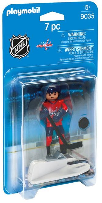 Playmobil NHL Hockey Sports & Action NHL Washington Capitals Player Set #9035