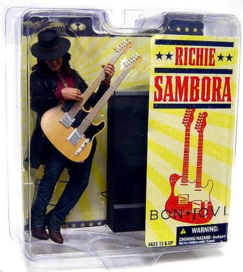McFarlane Toys Bon Jovi Rock 'n Roll Richie Sambora Action Figure [Damaged Package]