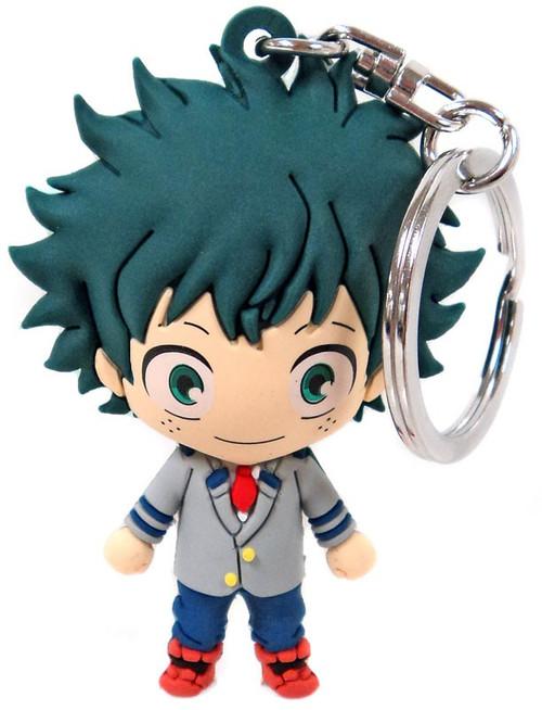 My Hero Academia 3D Figural Keyring Series 1 Izuku Midoriya Mystery Minifigure [School Uniform Loose]