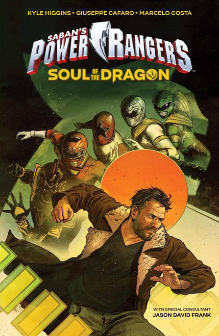 Boom Studios Mighty Morphin Power Rangers Soul of The Dragon Graphic Novel Comic Book