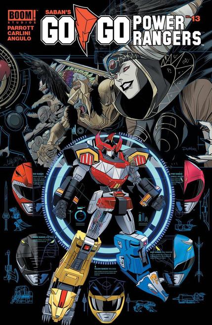 Boom Studios Go Go Power Rangers #13 Shattered Grid Comic Book