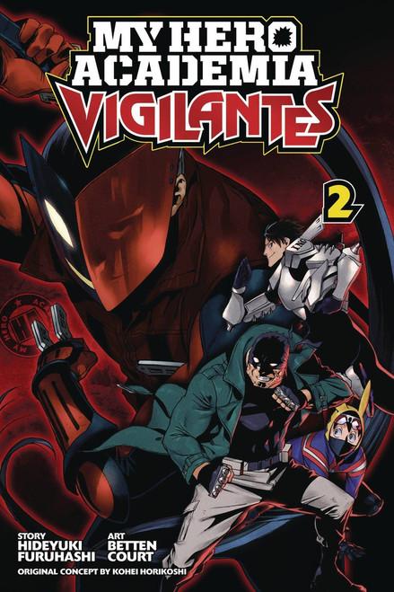 My Hero Academia Vigilantes Volume 2 Manga Trade Paperback
