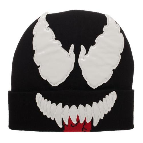 Marvel Venom Big Face Beanie Cap