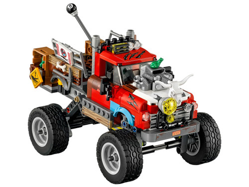 DC The LEGO Batman Movie Tail-Gator Truck [Loose]