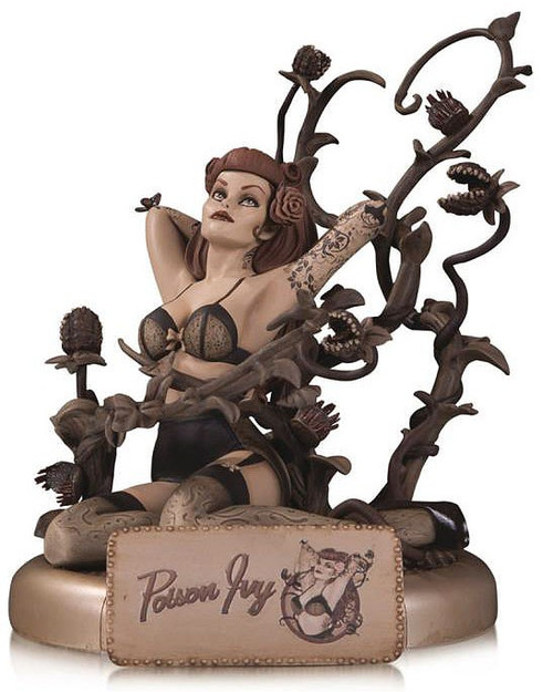DC Batman Bombshells Poison Ivy 10.6-Inch Statue [Sepia Version]