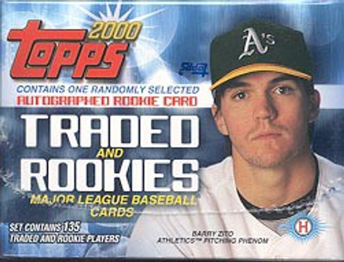 MLB Topps 2000 Traded & Rookies Baseball Trading Card Set
