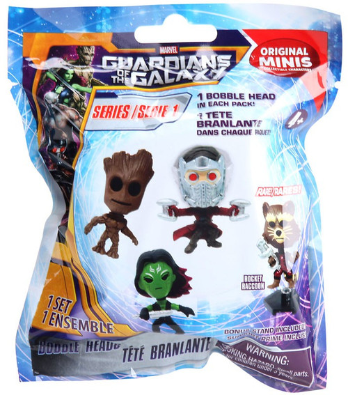Marvel Original Minis Series 1 Guardians of the Galaxy Bobble Head Mystery Packs