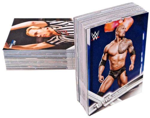 WWE Wrestling Topps 2018 Base Set of 100 Cards