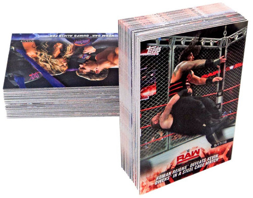 WWE Wrestling Topps 2018 Road to WrestleMania Trading Card Set [100 Cards]