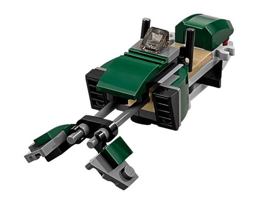 LEGO Star Wars Rogue One Green Speederbike Loose Vehicle [Loose]