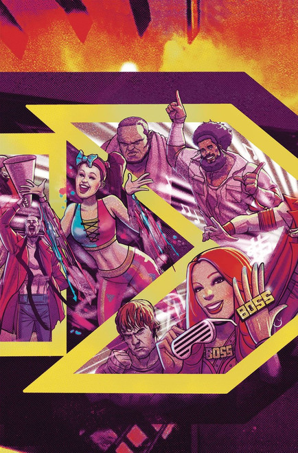 Boom Studios WWE NXT Takeover #1 Proving Ground Comic Book [Dalfonso Variant Cover]