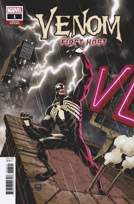 Marvel Venom First Host #3 of 5 Comic Book [Johnson Variant Cover, First Sleeper]