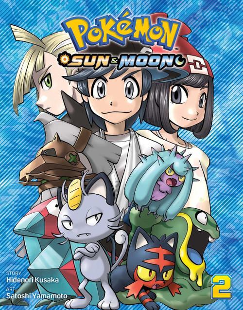 Viz Media Pokemon Sun & Moon Volume 2 Manga Trade Paperback