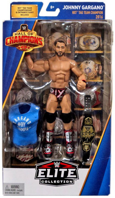 WWE Wrestling Elite Hall of Champions Johny Gargano Exclusive Action Figure