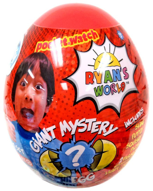 Ryan's World Series 1 Giant Egg Exclusive Mystery Surprise [RED]
