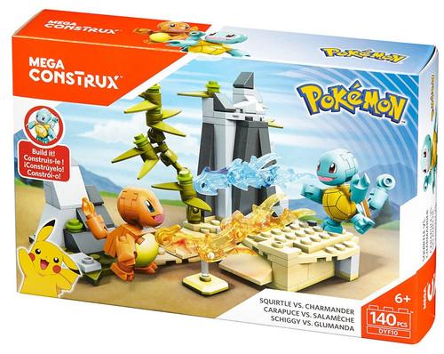 Pokémon Squirtle vs Charmander Set [Damaged Package]