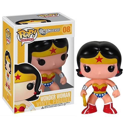 Funko DC Universe POP! Heroes Wonder Woman Vinyl Figure #08 [Damaged Package]