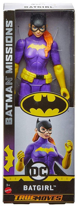 DC Batman Missions Batgirl Action Figure [True Moves]