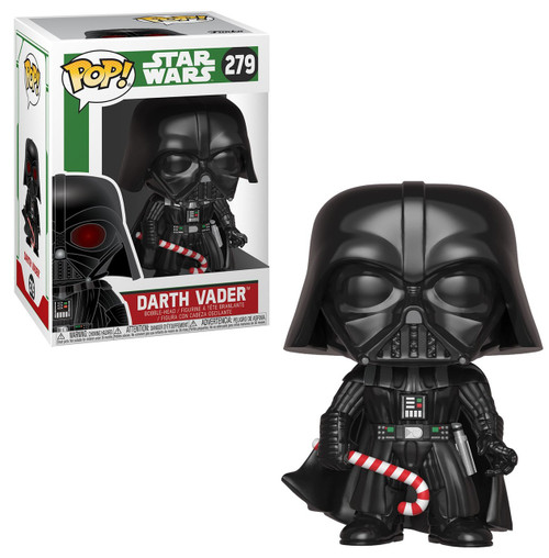 Funko POP! Star Wars Darth Vader Vinyl Bobble Head #279 [Holiday, Regular Version]