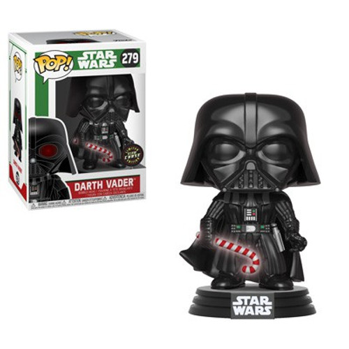 Funko POP! Star Wars Darth Vader Vinyl Bobble Head #279 [Holiday, Chase Version]