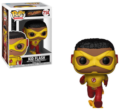 Funko The Flash POP! TV Kid Flash Vinyl Figure #714
